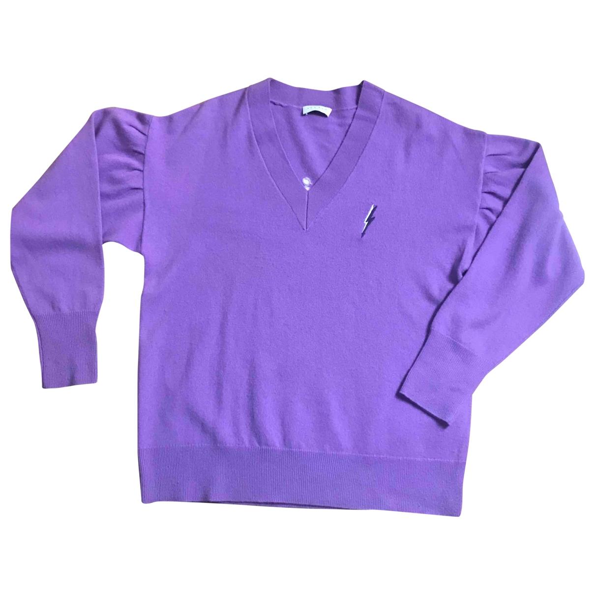 Sandro \N Purple Cashmere Knitwear for Women M International