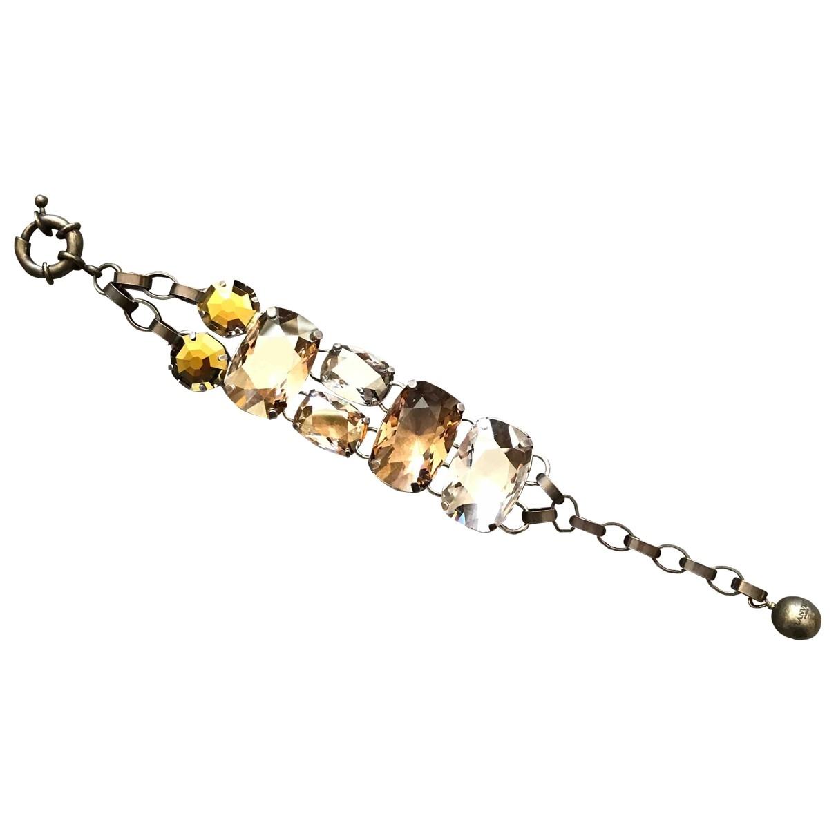 Lanvin \N Camel Crystal bracelet for Women \N
