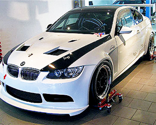 Flossman GT3 Rearwing GT2 Stage 1 | 1 Profile BMW E92 M3 08-13