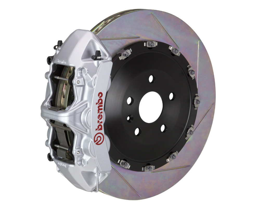 Brembo GT 405x34 2-Piece 6 Piston Silver Slotted Front Big Brake Kit