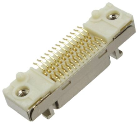 3M , 102 12.7mm Pitch 20 Way 2 Row Right Angle PCB Socket, Surface Mount, Solder Termination