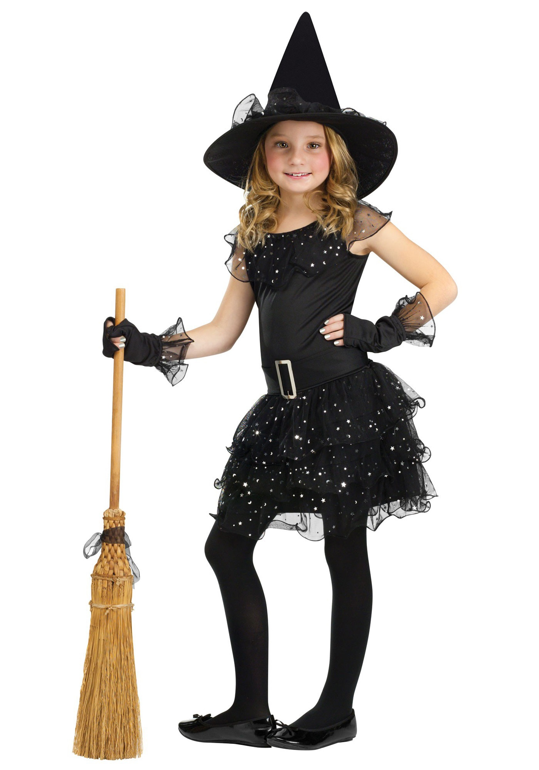 Glitter Witch Girls Costume