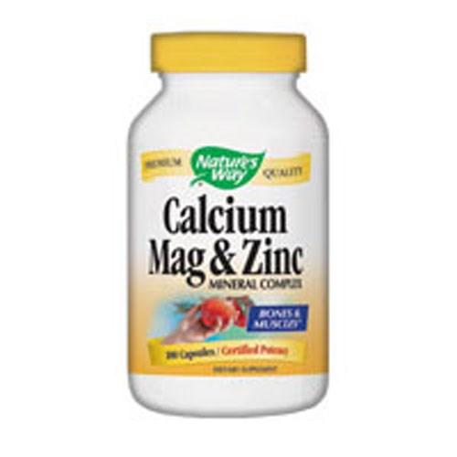 Calcium Magnesium & Zinc 100 Caps by Nature's Way