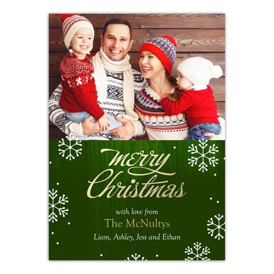 Gartner Studios® Personalized Brilliant Season Holiday Photo Card | Michaels®