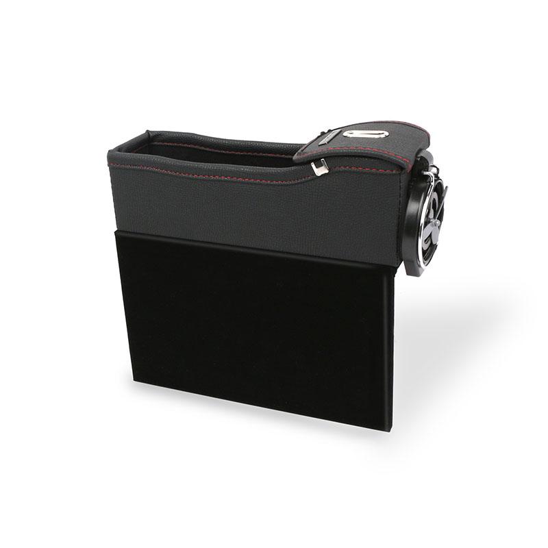 Car Seat Storage Box Gap Storage Box Bag Box Vehicle-Mounted Multi-Functional Leather Water Cup Holder