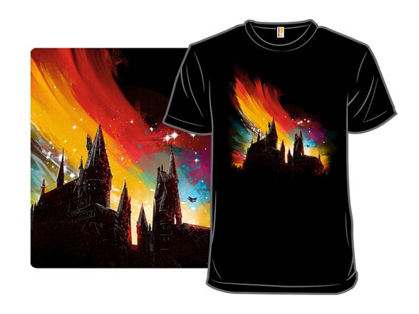 Sunset At Hogwarts T Shirt