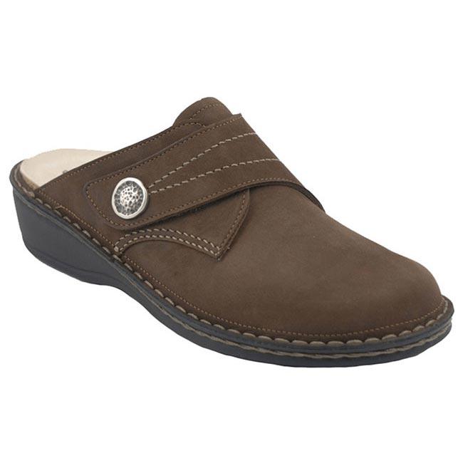 Finn Comfort Santa Fe Wood Leather Soft Footbed 35