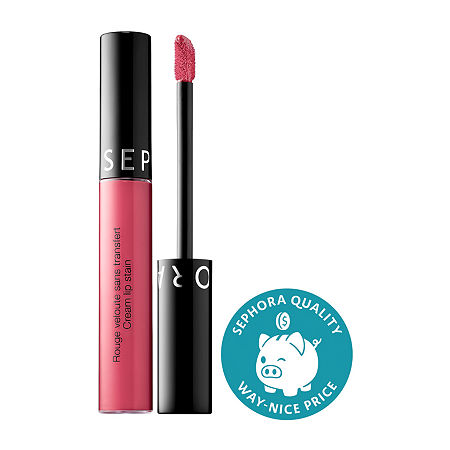 SEPHORA COLLECTION Cream Lip Stain Liquid Lipstick, One Size , Pink
