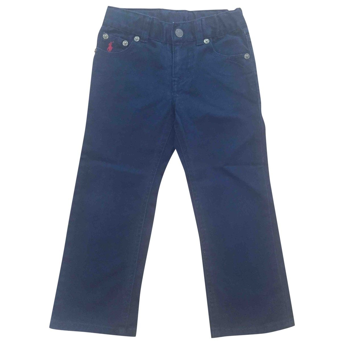 Polo Ralph Lauren \N Navy Cotton Trousers for Kids 4 years - up to 102cm FR
