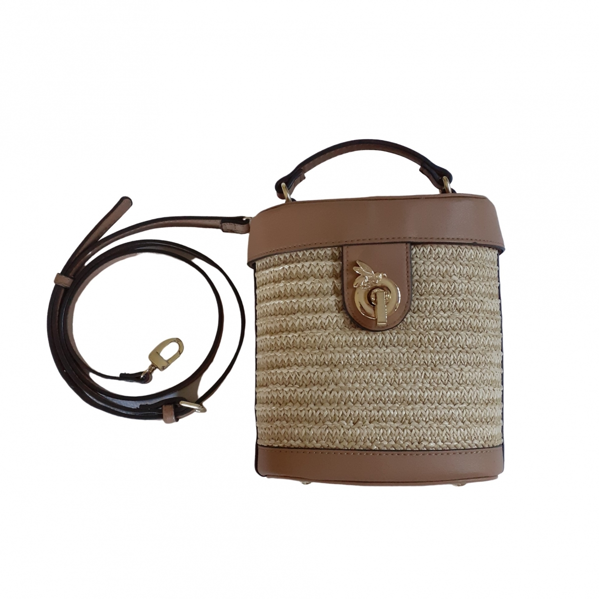 Non Signé / Unsigned \N Beige Wicker handbag for Women \N