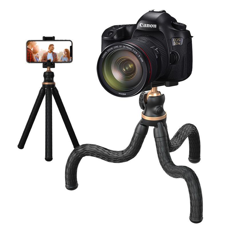 RK-L11 Flexible Twisting 360 Degree Rotation Sport Camera Handheld Stabilizer Phone Octopus Bracket Holder