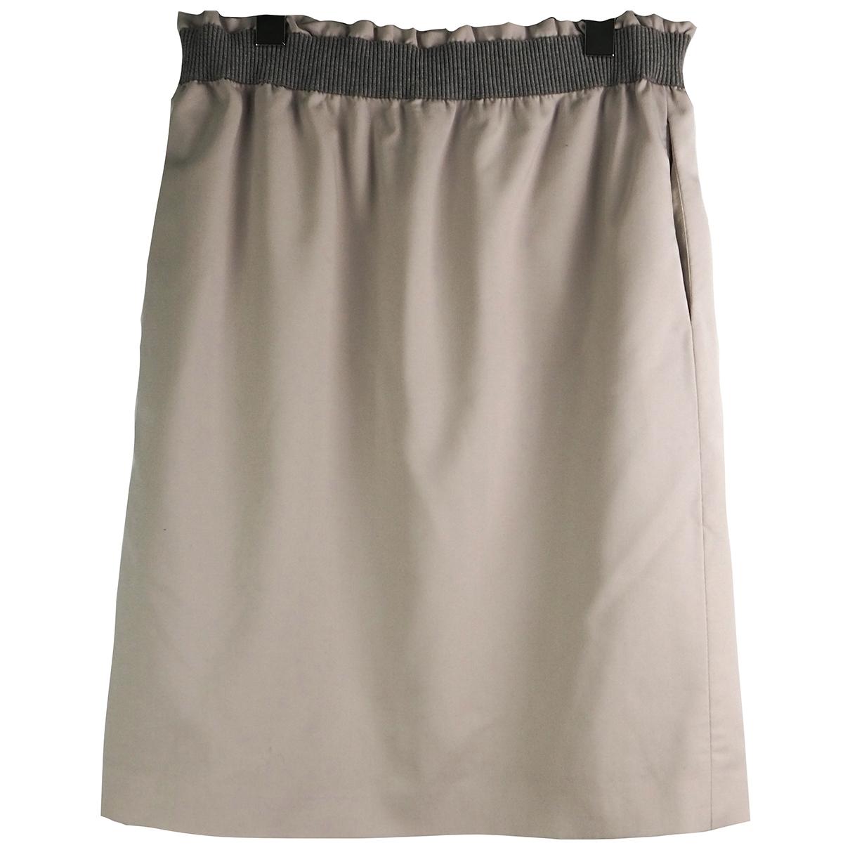 Fabiana Filippi \N Grey Wool skirt for Women 44 IT