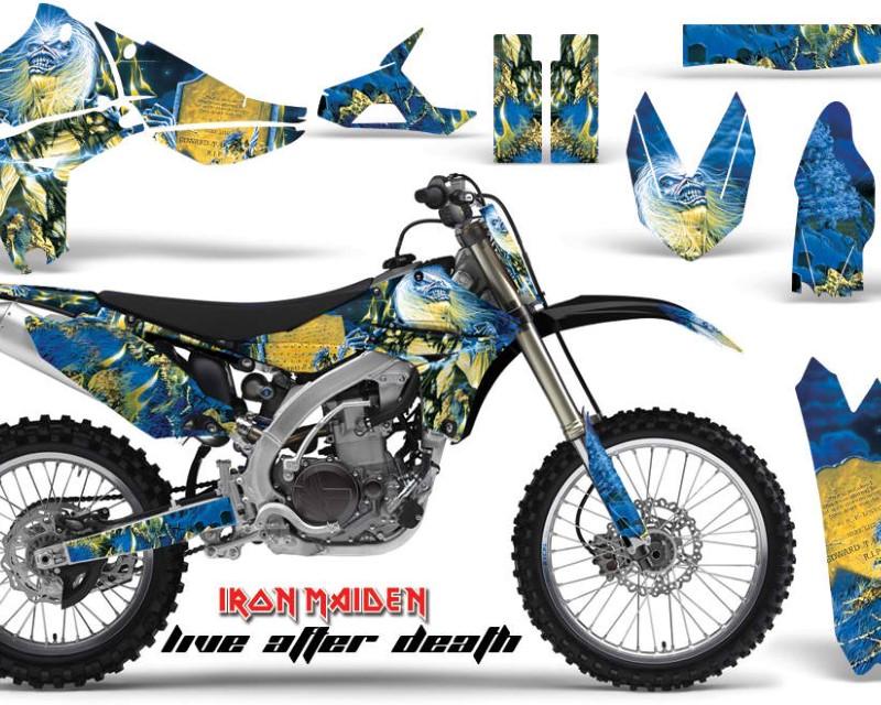 AMR Racing Graphics MX-NP-YAM-YZ450F-10-13-IM LAD Kit Decal Sticker Wrap + # Plates For Yamaha YZ450F 2010-2013áIM LAD