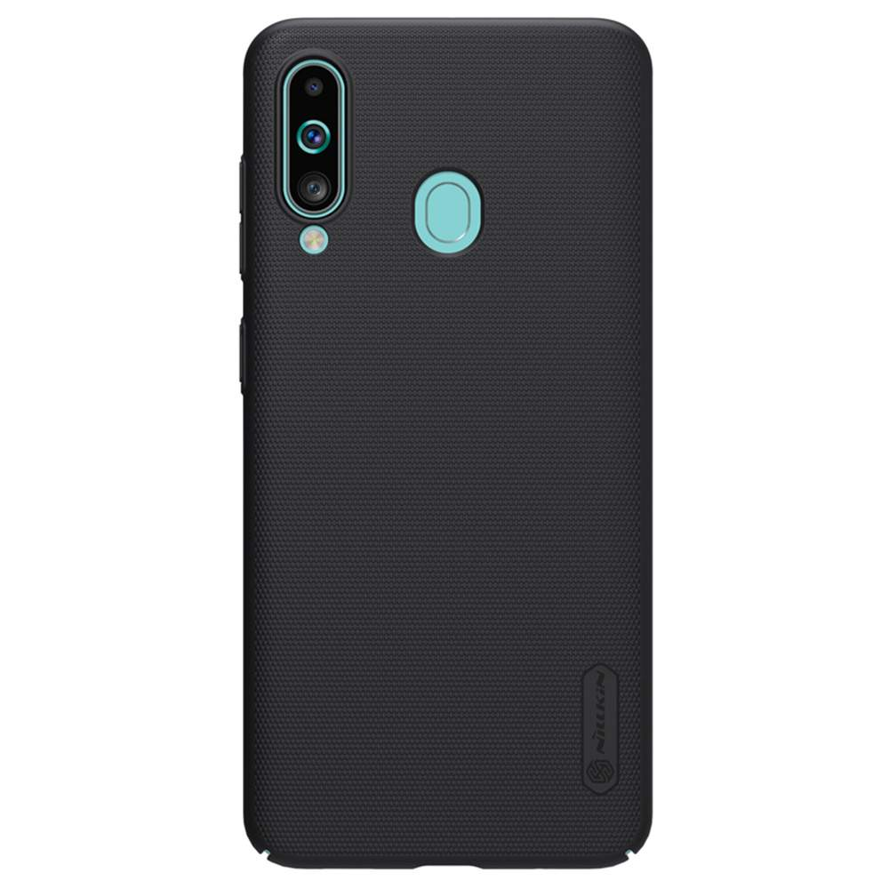 NILLKIN Protective Frosted PC Phone Case For Samsung Galaxy A60 Smartphone - Black