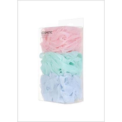 Bath Sponge Set, 3 Pack Miniso