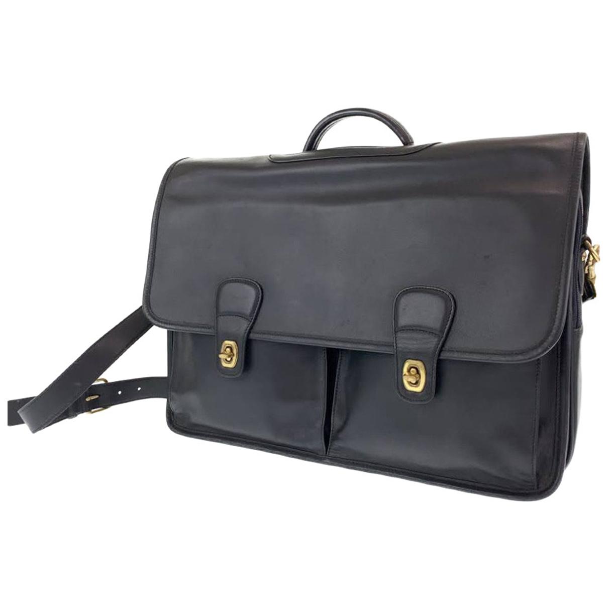 Coach \N Leather bag for Men \N