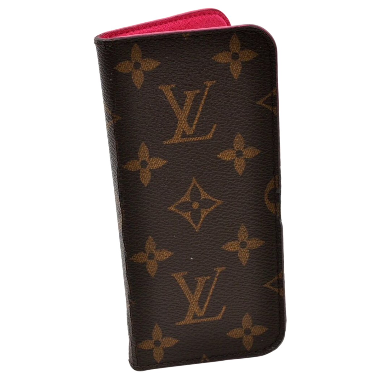 Louis Vuitton \N Brown Cloth Phone charms for Women \N