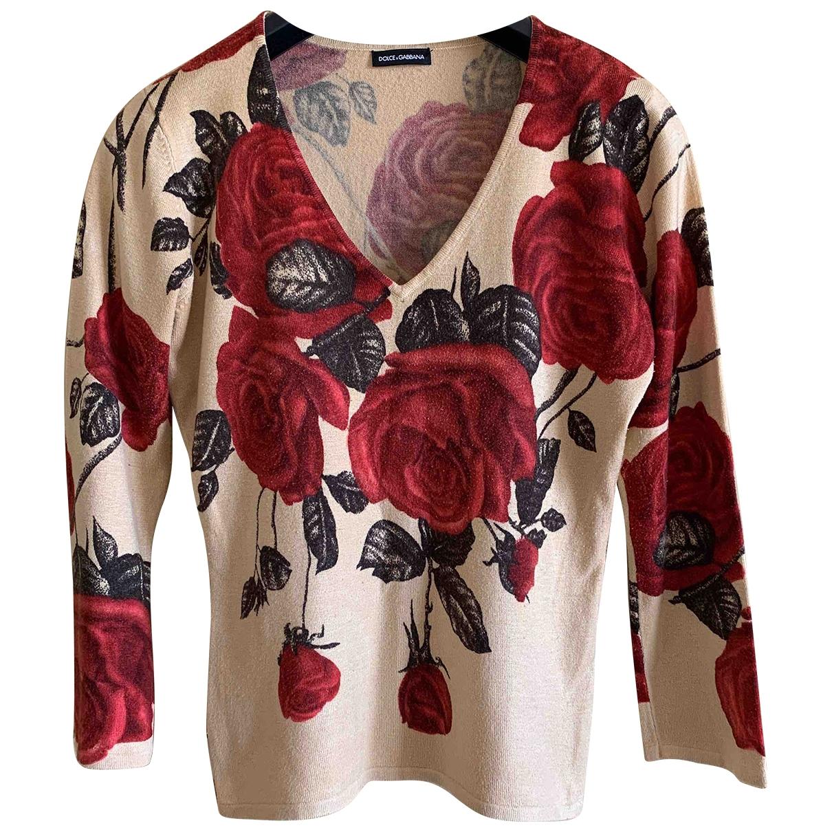 Dolce & Gabbana \N Multicolour Cotton Knitwear for Women 40 IT