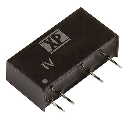XP Power IV 1W Isolated DC-DC Converter Through Hole, Voltage in 4.5 → 5.5 V dc, Voltage out 5V dc