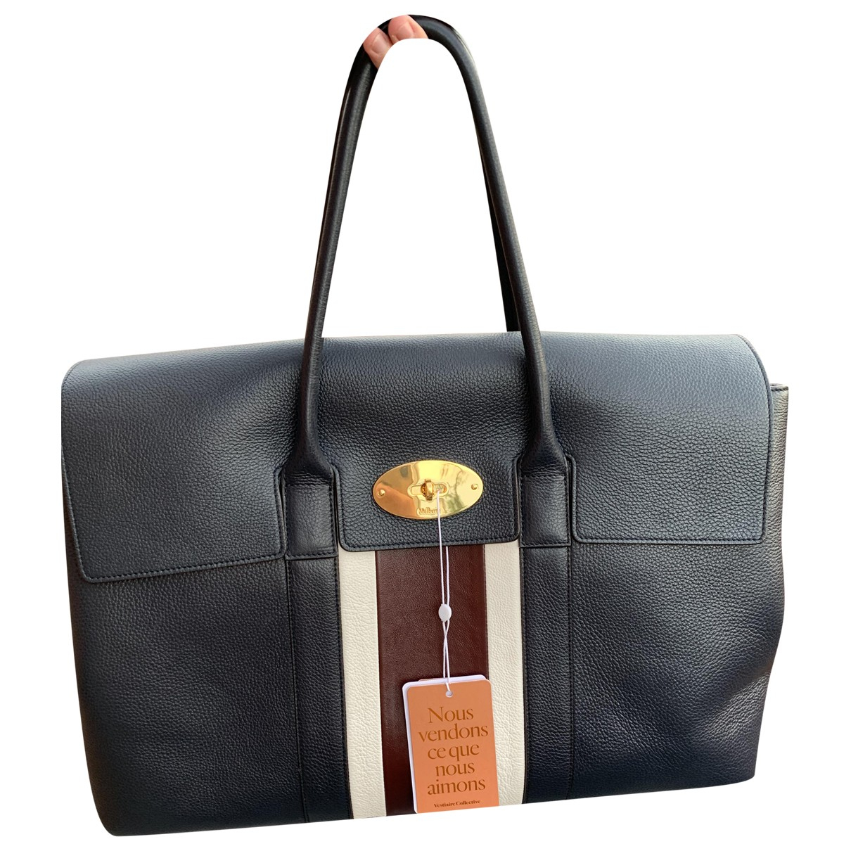 Mulberry \N Navy Leather Travel bag for Women \N