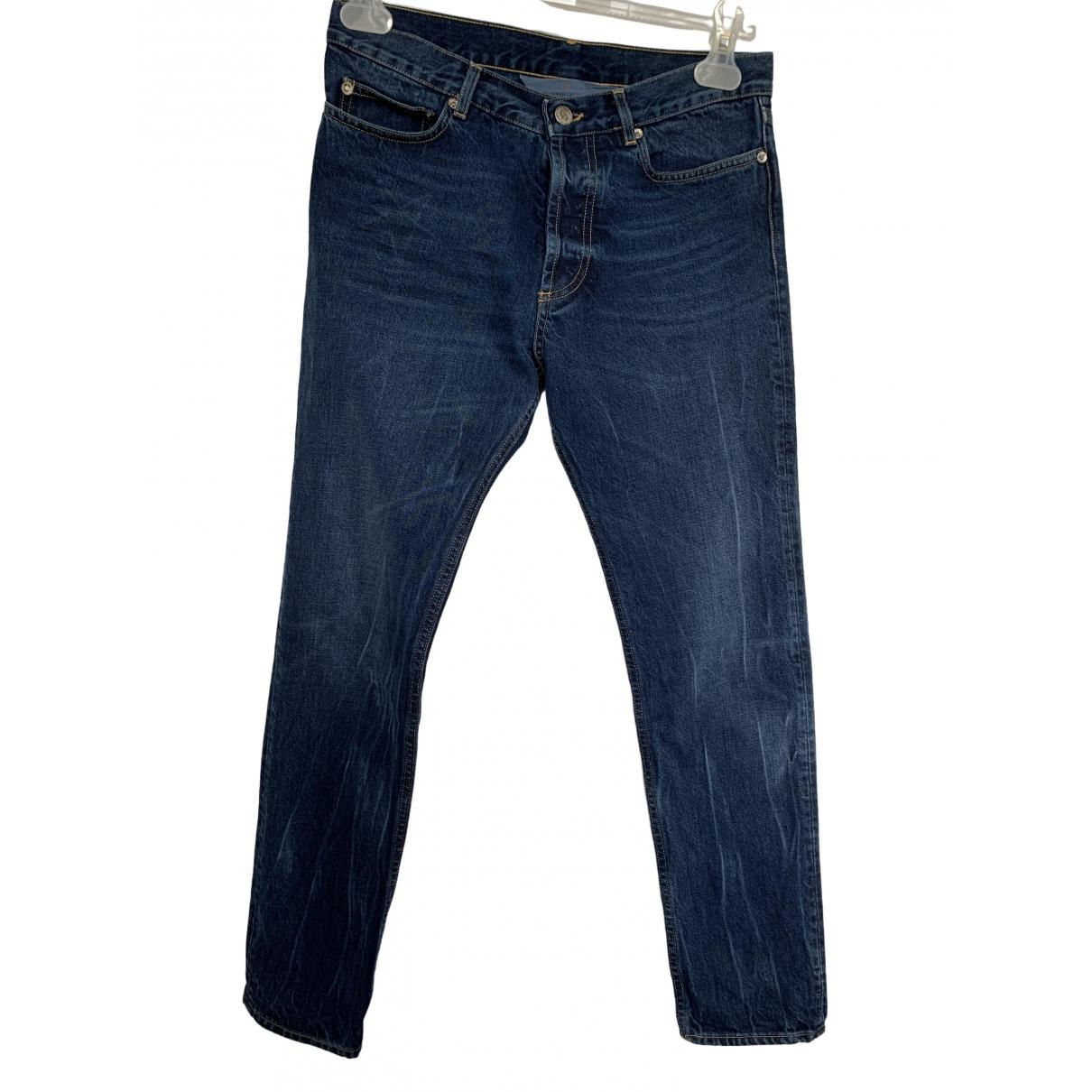 Golden Goose \N Blue Cotton Jeans for Women 25 US