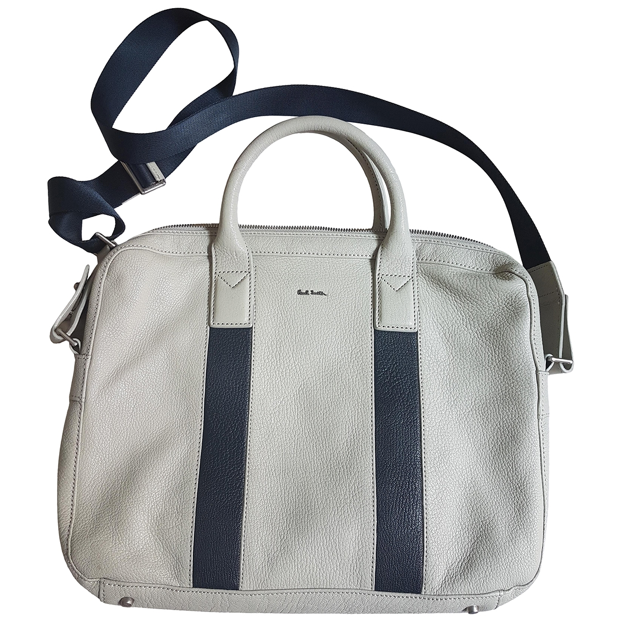 Paul Smith \N Grey Leather bag for Men \N