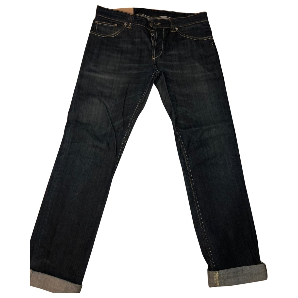 Dondup \N Blue Cotton Jeans for Men 33 US