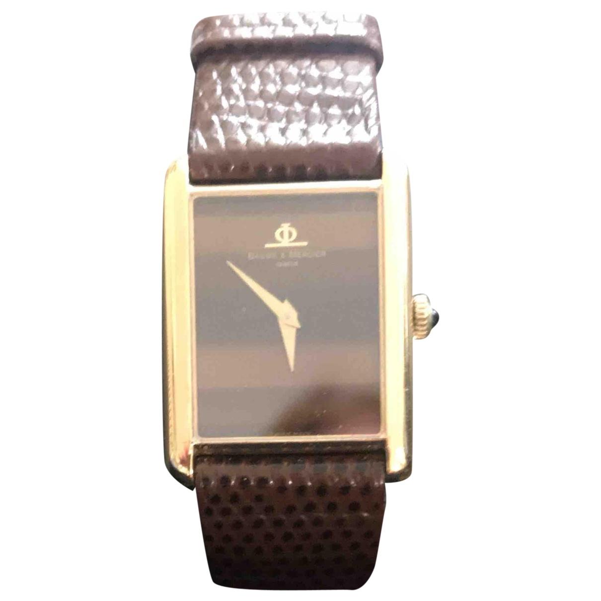 Baume Et Mercier \N Gold Yellow gold watch for Women \N