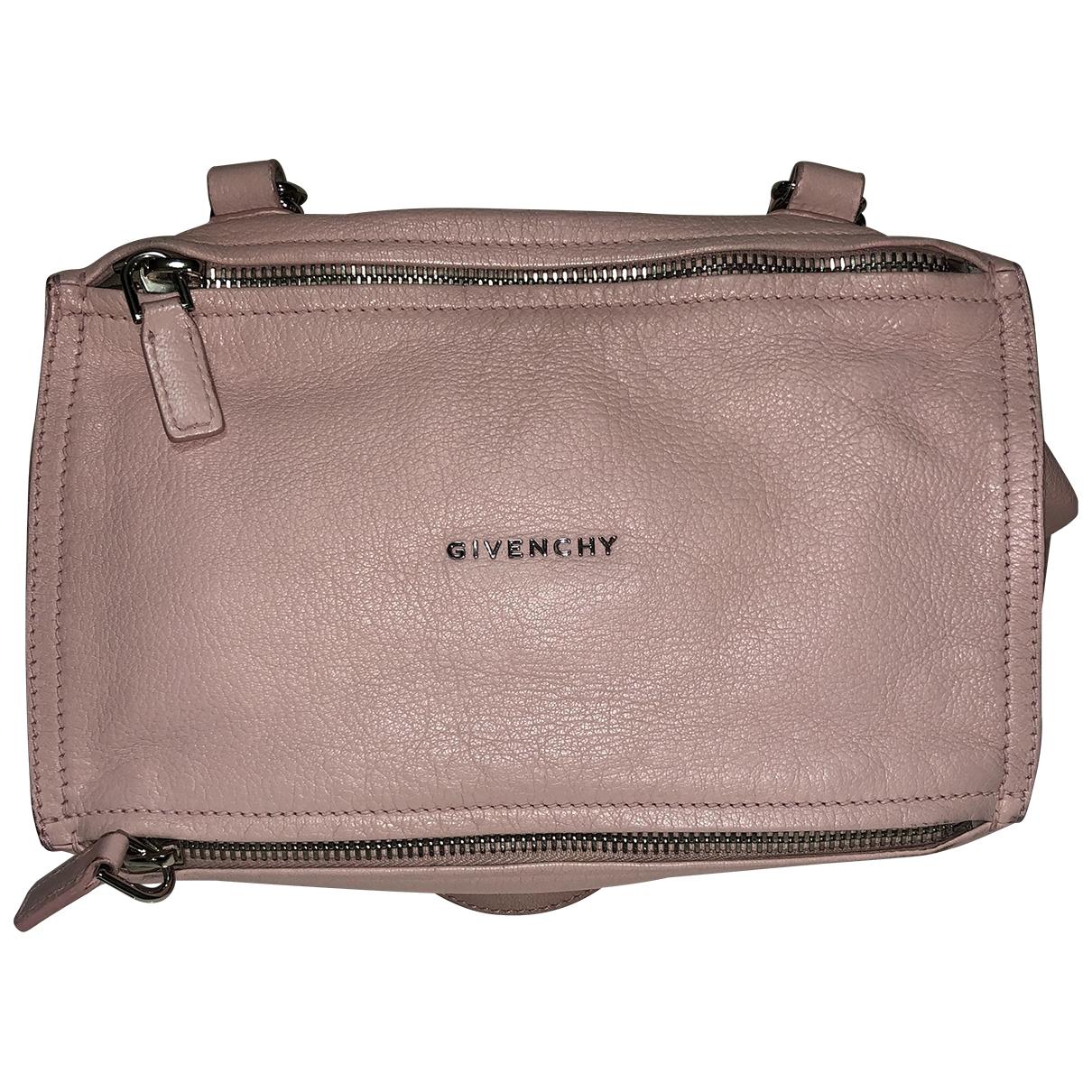 Givenchy Pandora Pink Leather handbag for Women \N