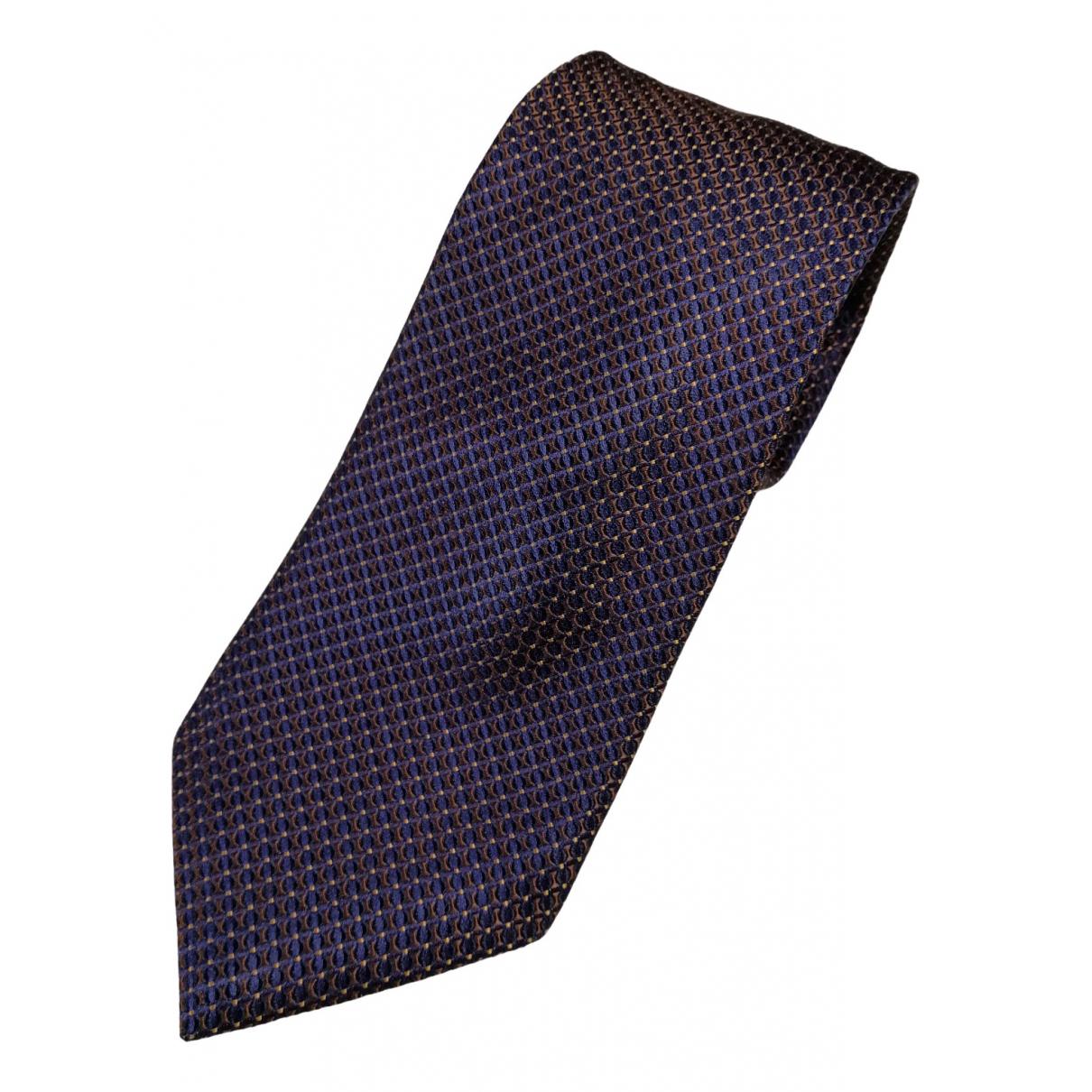 Canali \N Multicolour Silk Ties for Men \N