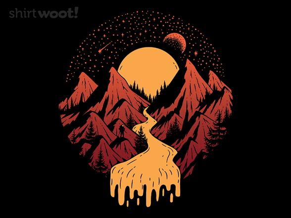 Cosmic River T Shirt