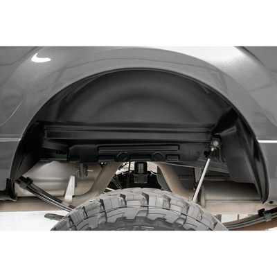 Rough Country Rear Wheel Well Liners (Black) - 4515