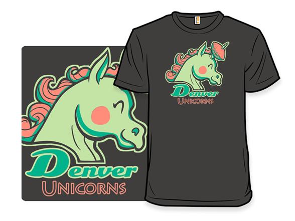 Denver Unicorns T Shirt