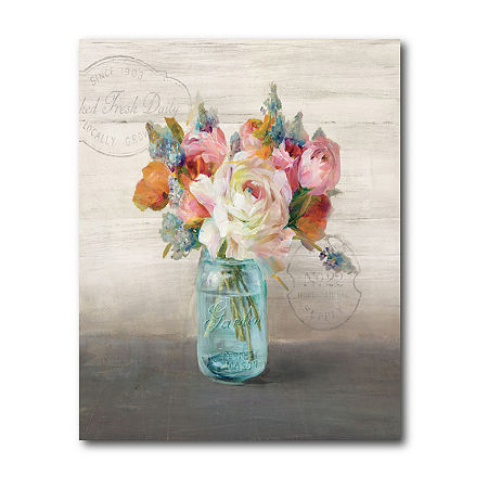 Courtside Market French Cottage Bouquet Canvas Art, One Size , Multiple Colors