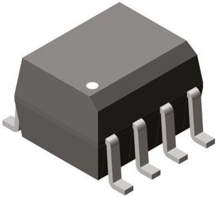 ON Semiconductor , MOC207R2M DC Input Transistor Output Optocoupler, Surface Mount, 8-Pin SOIC (5)
