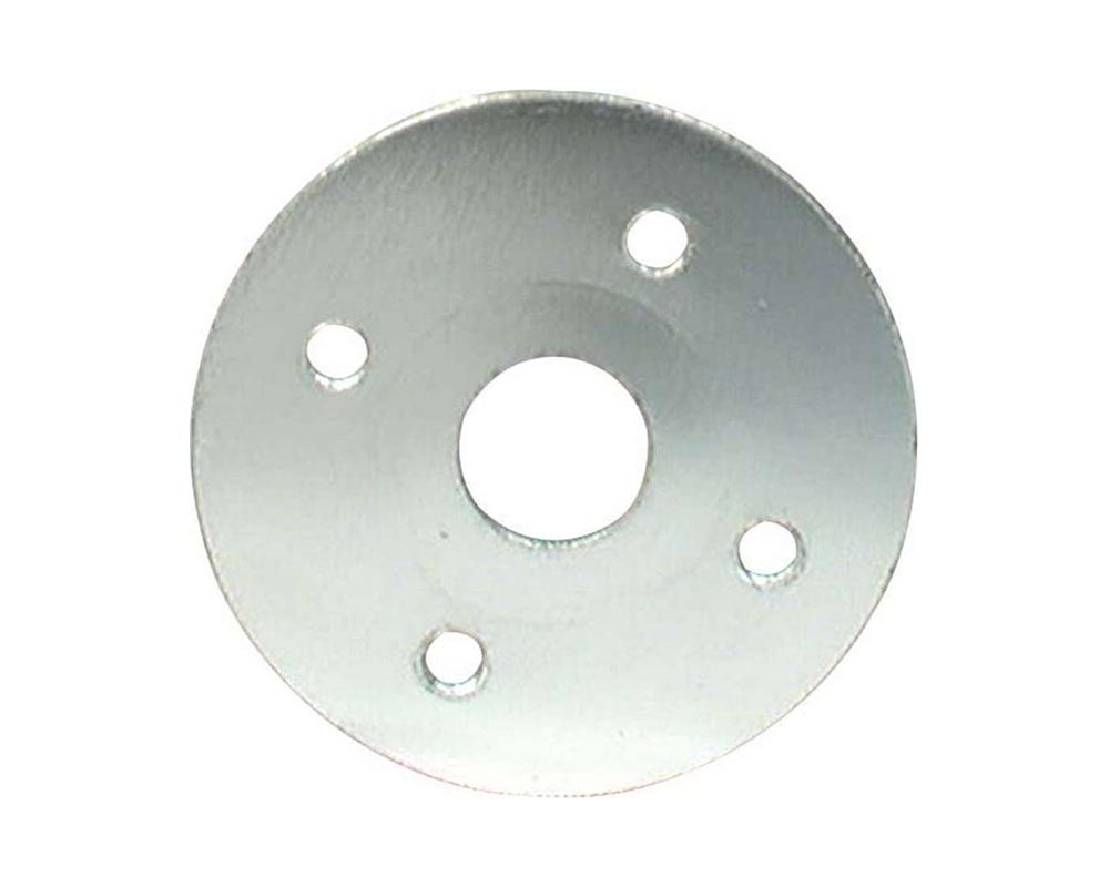 Allstar Performance ALL18519-10 Scuff Plates Aluminuminum 3/8in Hole 10pk ALL18519-10