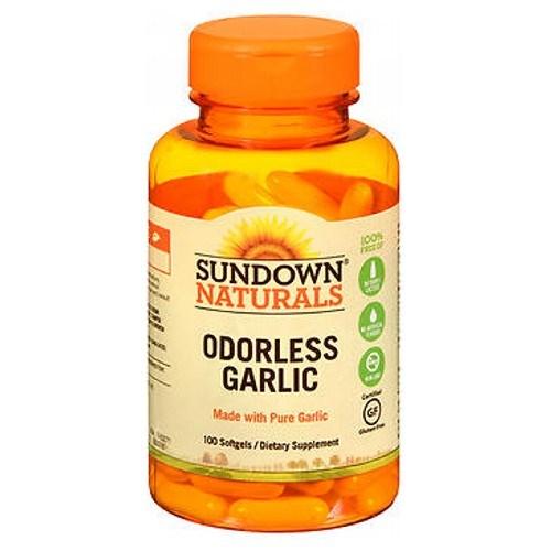 Sundown Naturals Odorless Garlic Softgels 100 sgels by Sundown Naturals