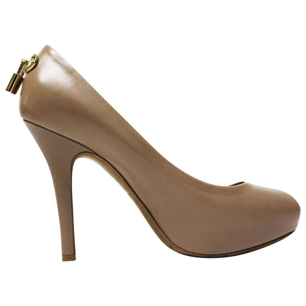 Louis Vuitton \N Leather Heels for Women 35 EU