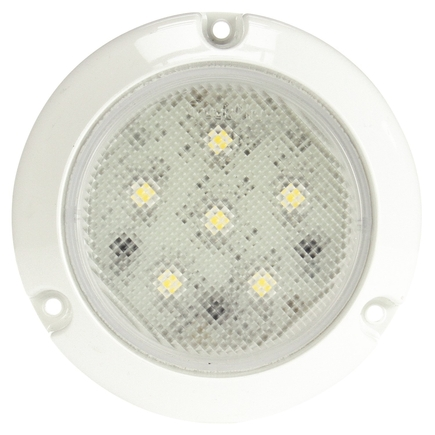 Truck Lite 44439C - Super 44, Led, 6 Diode, Round Clear, Dome Light...