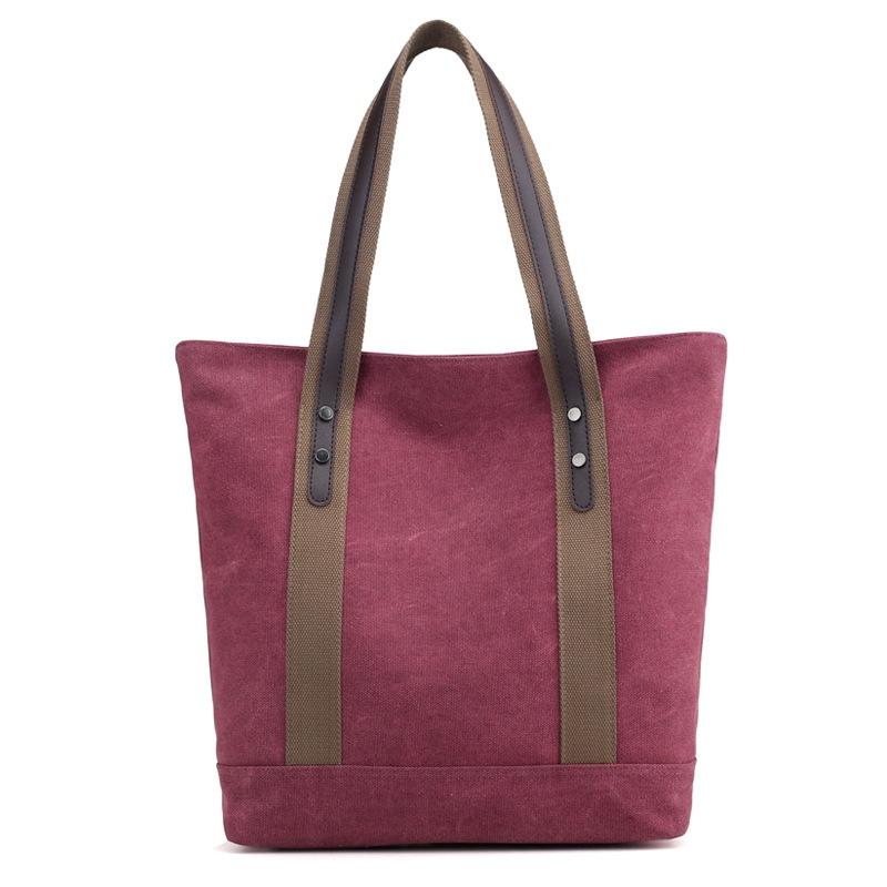 Ericdress Retro Canvas Shoulder Bag