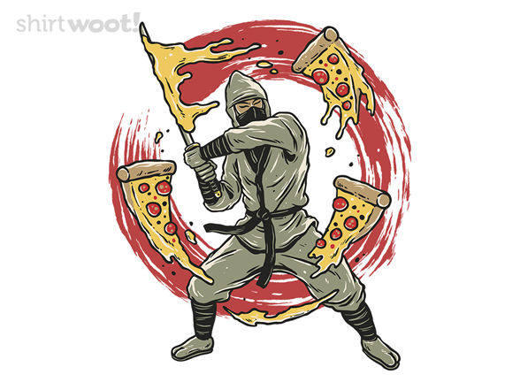 Pizza Ninja T Shirt