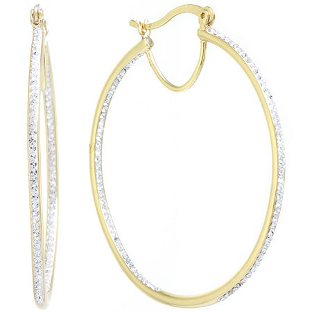 Sparkle Allure 1 Pair Hoop Earrings, One Size , No Color Family