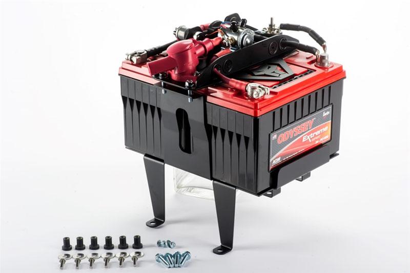 Genesis Offroad GEN-172-TTDBK Tacoma Dual Battery Kit 200 Amp Isolator Toyota Tacoma 16-18