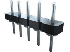 Samtec , BBL, 32 Way, 1 Row, Vertical Pin Header (7)