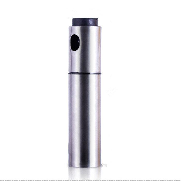 Stainless Steel Oiler Oil Spray Bottle Fuel Injector Sprayer Pot Gravy Boats Kitchen Tools