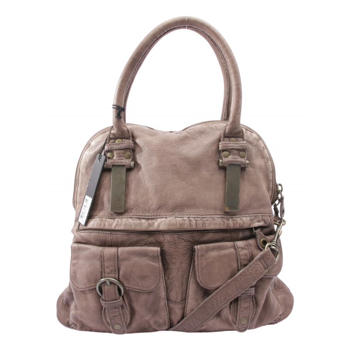 Autre Marque \N Brown Leather handbag for Women \N