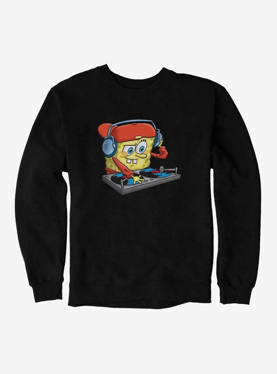 SpongeBob SquarePants DJ Sponge Turntable Sweatshirt