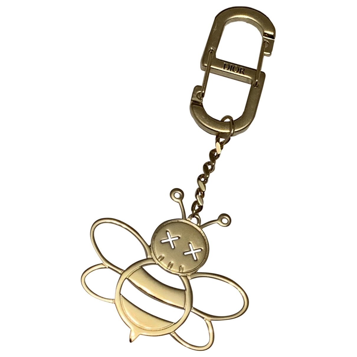 Christian Dior \N Gold Gold plated Bag charms for Women \N