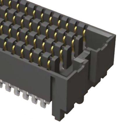 Samtec , SEAF 1.27mm Pitch 160 Way 8 Row Straight PCB Socket, Surface Mount, Solder Termination