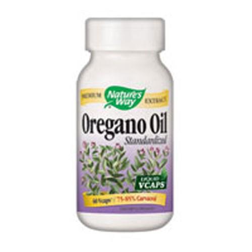 Oregano Oil 60 Liquid Vegicaps by Nature's Way